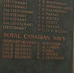 Inscription on Commonwealth Memorial in South Korea