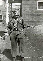 "Photo of Stanley War– Stanley Arthur ""Buddy"" Ward RCR (b: 7 July 1932 - d: 23 Oct., 1952).  Killed in action, Korea."