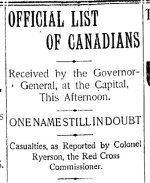 Newspaper Clipping (2)– From the Toronto Star for 26 February 1900.