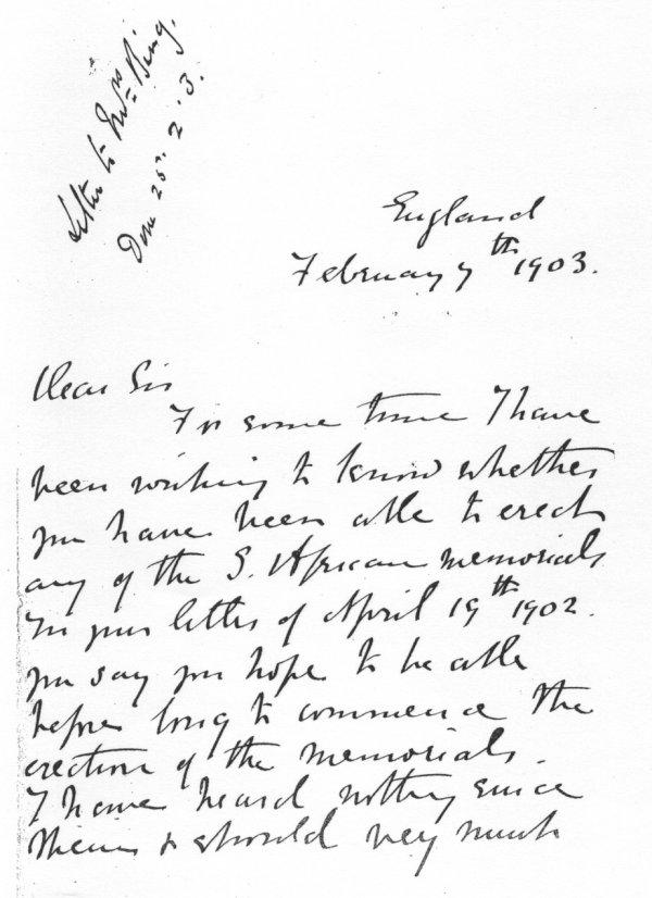 Lettre février 1 1903 p.1