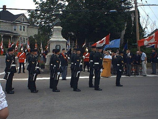 Nouvelle inauguration du monument Borden