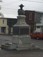 Borden Monument– Borden Monument, Main Street, Canning, Nova Scotia. Dedicated by the family in 1903.