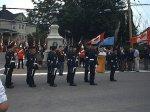 Nouvelle inauguration du monument Borden – Nouvelle inauguration du monument Borden, le 16 juillet 2000 en présence des Royal Canadian Dragoons, de la Légion royale canadienne et de la GRC.
