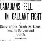 Newspaper Clipping– From the Toronto Daily Star for 1 September 1900.