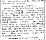 Newspaper Clipping– From the Renfrew Mercury for 15 June 1900.