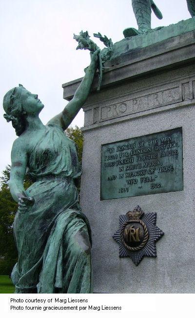 Close up of Memorial