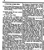Newspaper clipping– From the Perth Courier for 3 August 1900, page 8.