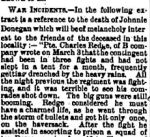 Newspaper clipping– From the Perth Courier for 13 April 1900, page 5.