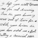 Letter p.1