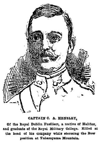 Drawing of Charles Albert Hensley