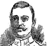 Drawing of Charles Albert Hensley– This line drawing of Captain Charles Albert Hensley appeared in the Toronto Star on January 24th, 1900.
