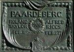 Plaque commémorative – Photo de la plaque sur le monument commémoratif de la guerre des Boers, à Charlottetown.