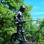 Boer War Monument– Photo of the Boer War monument in Charlottetown.