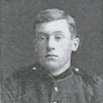 Photo of Roland Taylor– Roland Dennis Taylor, Charlottetown Engineers. Born: March 2, 1878, Charlottetown, P.E.I. Killed in action, Paardeberg, February 18, 1900