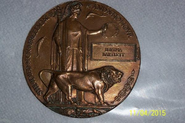 Medal– Credit: Beatrix Potter School.