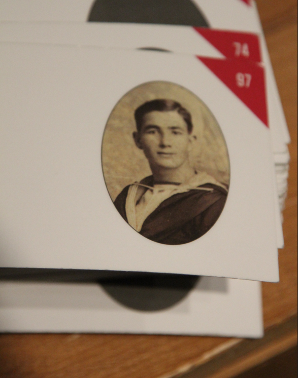 Photo of MOSES DEWLING– In memory of the men and women from Newfoundland who went away to war and did not come home. From the  Rooms Archives and Museum St Johns Newfoundland. Submitted for the project, Operation Picture Me