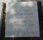 Pierre tombale de Sterling Isnor