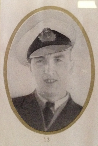 Photo of Harold Taverner– In memory of the men and women who perished on the SS Caribou October 14th 1942. Submitted on behalf of the Twillingate (Newfoundland) Museum for the project, Operation Picture Me