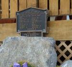War Memorial– War Memorial, Exshaw, Alberta.  Located at the Royal Canadian Legion, Heart Mountain Branch No 179.