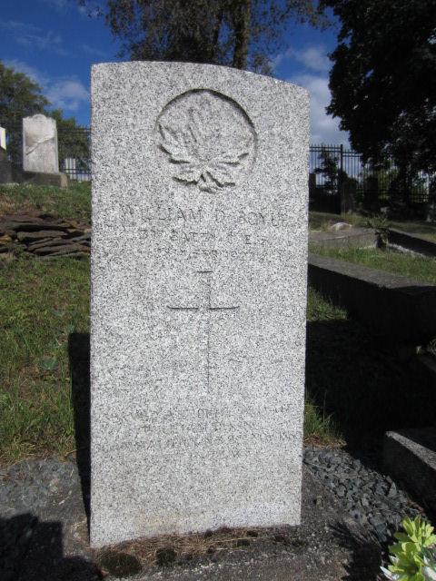 Grave Marker– Grave marker for William Daniel Boyle at Fort Massey Cemetery, Halifax, Nova Scotia. Image taken 24 September 2016 by Tom Tulloch.