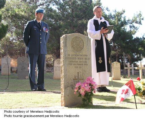 Reverend Richard Hull & Captain Dan Zegarac