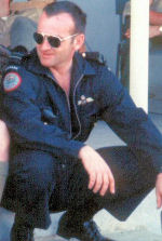 Photo of George Foster– Photograph of Captain Foster taken in March 1969 at an airport in Kingston, Jamaica (courtesy of Wally Adam).