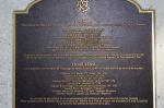 Inscription– Memorial located at Buffalo Park, Garrison Green, Calgary, Alberta. Photo credit - Canada Lands Company.
