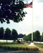 Cimetière – Cimetière américain Oise-Aisne où Michael J. Butler est enterré.