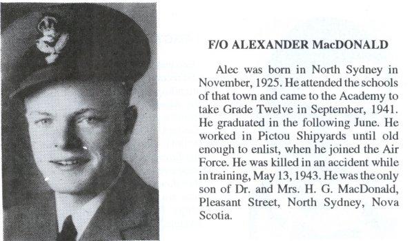 Photo of Alexander Joseph MacDonald