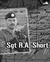 Plaque OP d'Athena – La plaque de l'opération Athena commémorant les actions du Sergent R.A. Short et du Caporal-chef R.C. Beerenfenger.