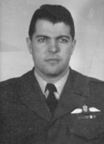 Flying Officer Thomas James Beeby– Flying Officer Thomas James Beeby in service uniform.
