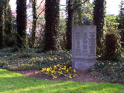 Werl Cemetery– This is Werl Cemetery, in Germany, where Private J. R. R. Charbonneau was laid to rest.