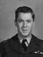 Flight Lieutenant James Ernest Perron– Flight Lieutenant James Ernest Perron in service uniform.