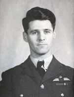 Flight Lieutenant Joseph Wilfred Tetrault– Flight Lieutenant Joseph Wilfred Tetrault in service uniform.