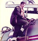 Photo of Roy James Smith– Captain Roy James Smith climbing into CF-101 (Voodoo).