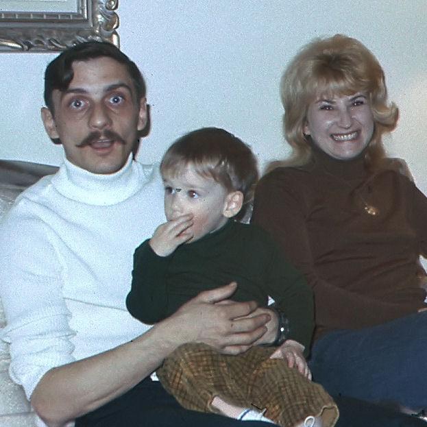 Family Photo– Gaston Bérubé with wife Margaret and son Conrad. Circa 1974.