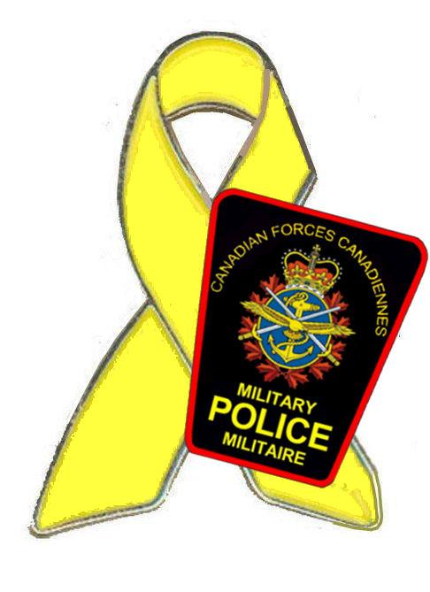 Pin– MP Support the Troops pin which was struck in honour of our fallen MP Brothers.