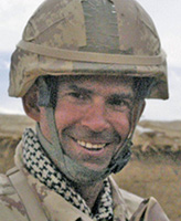 Photo of William Turner– Lieutenant William Turner of Land Force Western Area Headquarters, Edmonton, Alberta was killed when the armoured G-Wagon he was riding in was struck by a roadside bomb near the Gumbad platoon house at about 7:30 a.m. Kandahar time, April 22, 2006.