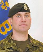 Photo de Paul Davis – Le Caporal Paul Davis, soldat canadien de Bridgewater, N.-É., a servi dans le 2e Bataillon du Princess Patricia's Canadian Light Infantry (2 PPCLI), à Kandahar, dans la Force opérationnelle en Afghanistan.