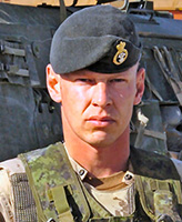 Photo of Vaughan Ingram– Sergeant Vaughan Ingram of the 1st Battalion Princess Patricia's Canadian Light Infantry was killed as a result of a rocket propelled grenade attack that occurred on August 3, 2006 near the village of Pashmul, approximately 25 kilometres southwest of Kandahar City, Afghanistan.