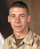 Photo of William Cushley– Private William Jonathan James Cushley, a member of 1st Battalion, The Royal Canadian Regiment, based in Petawawa, Ontario was killed on September 3, 2006 fighting against Taliban insurgents approximately 15 km west of Kandahar City.