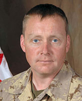 Photo of Richard Nolan– Warrant Officer Richard Francis Nolan, a member of 1st Battalion, The Royal Canadian Regiment, based in Petawawa, Ontario was killed on September 3, 2006 fighting against Taliban insurgents approximately 15 km west of Kandahar City.