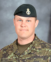 Photo of Shane Keating– Cpl. Shane Keating, a member of 2 PPCLI, was killed on Sept 18, 2006 during a suicide bomber attack on his patrol in Afghanistan.