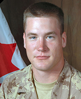 Photo of Josh Klukie– Private Josh Klukie, 1st Battalion, The Royal Canadian Regiment.  Photo: Canadian Forces Image Gallery