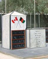 Kandahar Airfield Memorial– Kandahar Airfield Memorial, Afganistan Photo submitted Thomas L. Skelding