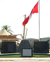 Memorial– TSE Memorial  Theatre Support Element Persian Gulf Photo courtesy of Thomas L. Skelding