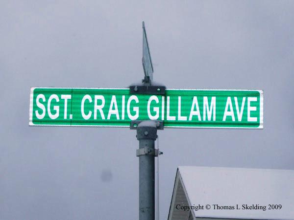 Sgt Craig Gillam Ave