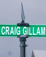 Sgt Craig Gillam Ave– Sgt Craig Gillam Ave  Clovelly Trails Sub-Division,  St. John's, NL Photo courtesy of Thomas L. Skelding