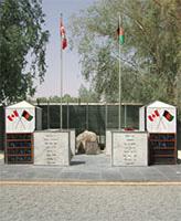 Kandahar Airfield Memorial– Kandahar Airfield Memorial, Afghanistan Photo submitted Thomas L. Skelding