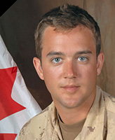 Photo of Blake Williamson– Pte Blake Williamson was killed on October 14 when his unit was ambushed near the new Panjwayi development road, 25km West of Kandahar City.  Photo:  Canadian Forces Image Gallery